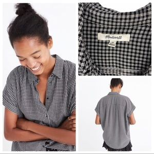 Madewell Central Shirt in Haden Plaid XS